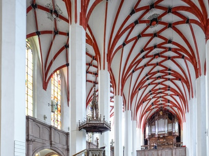 St. Thomas Church Leipzig  Germany