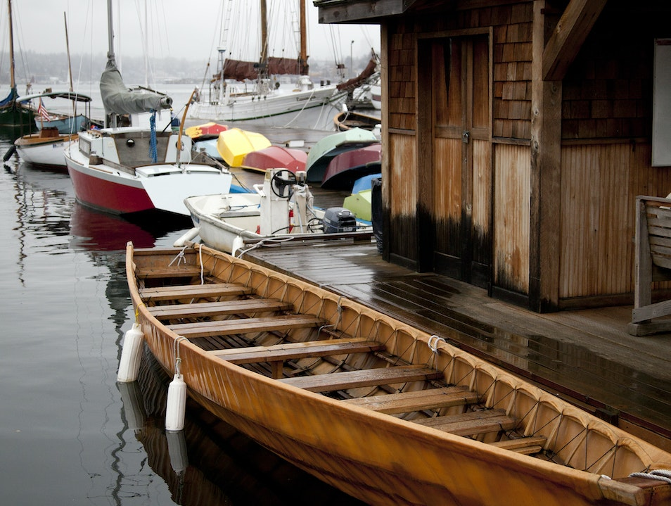 The Center For Wooden Boats Seattle Washington United States