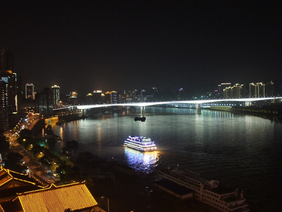 Night Cruise Chongqing  China