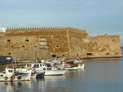 Koules Fortress & City Walls Iraklio  Greece
