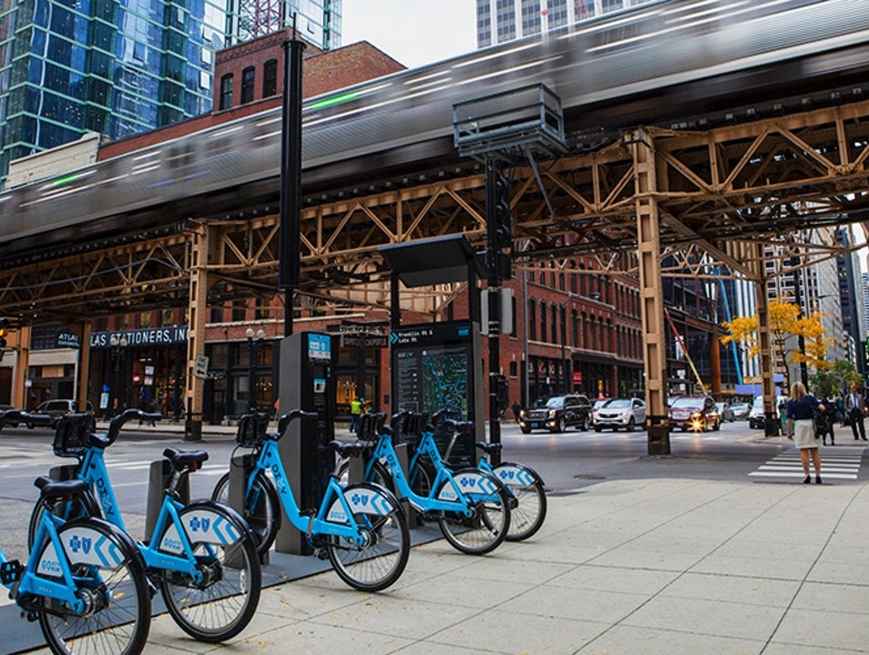 Divvy Bikes Chicago Illinois United States