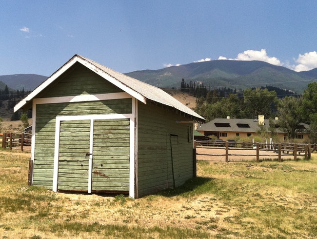 Authentic Ranch in the Rockies
