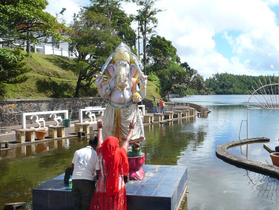 Go on Pilgrimage to Ganga Talao Savanne  Mauritius