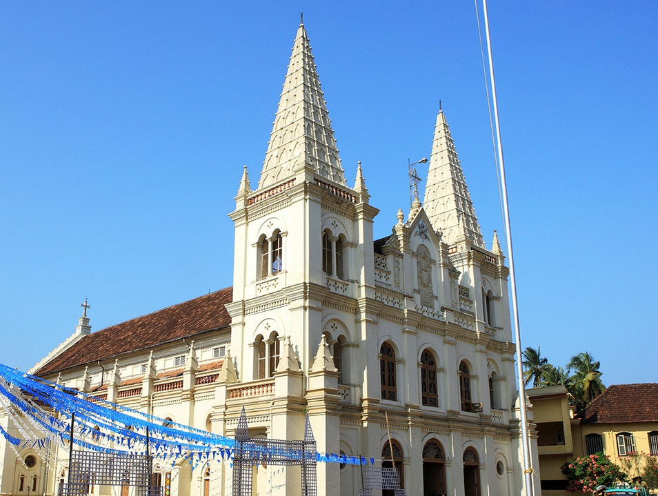 Santa Cruz Cathedral Basilica Kochi  India