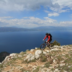 Cycling in Ohrid