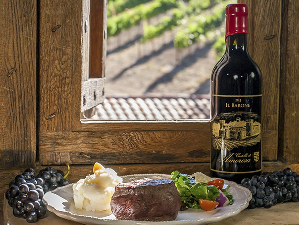 Authentic Italian Medieval Delight in Napa Valley: Castello di Amorosa Calistoga California United States