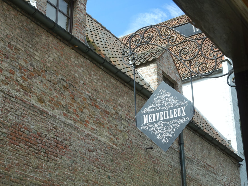 Sometimes type leads the way Bruges  Belgium