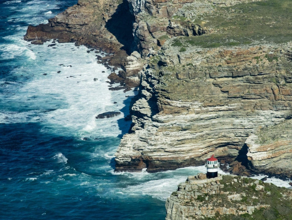 Cape of Good Hope by Helicopter