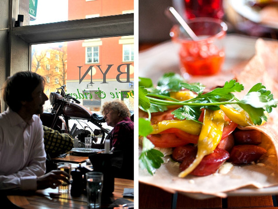 Savory Crepes at Byn Stockholm County  Sweden