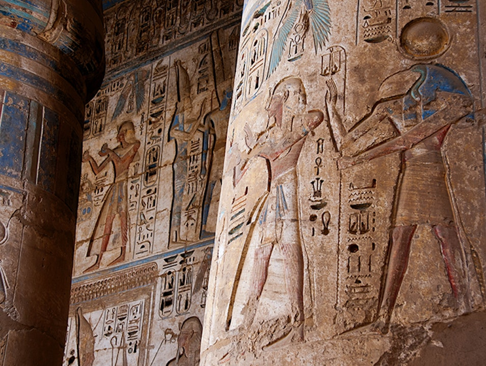Better Than the Luxor and Karnak Temples Madinat Habu  Egypt