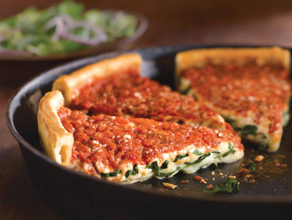 When in Chicago, Get Deep Dish Pizza Chicago Illinois United States