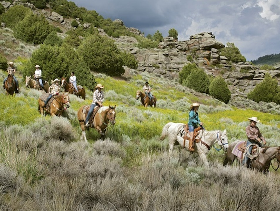 Camp Hotels: Brush Creek Ranch, Saratoga  Saratoga Wyoming United States