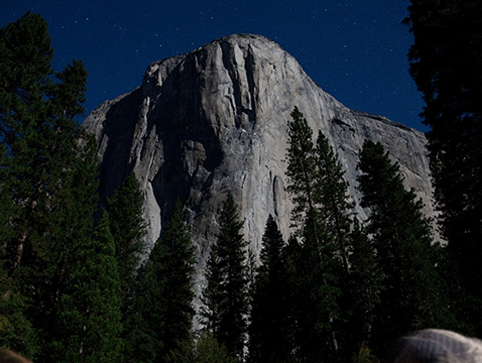 Moonlight Tour of the Valley Yosemite National Park California United States