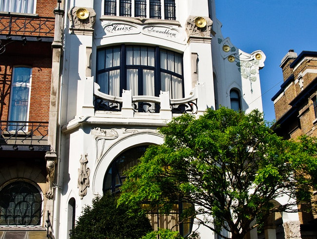 Antwerp's Art Nouveau Neighbourhood - Zurenbourg
