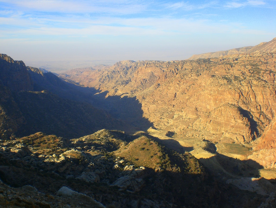 Into the Hills at Dana Biosphere Reserve Ma'an Governorate  Jordan