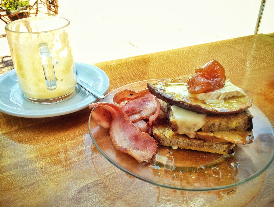 Chow Down with The Big Bomber and some French Toast at Post