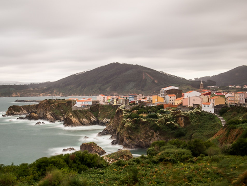 A Stop On the Way Through Cariño, Galicia, Spain.