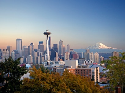 Space Needle Seattle Washington United States