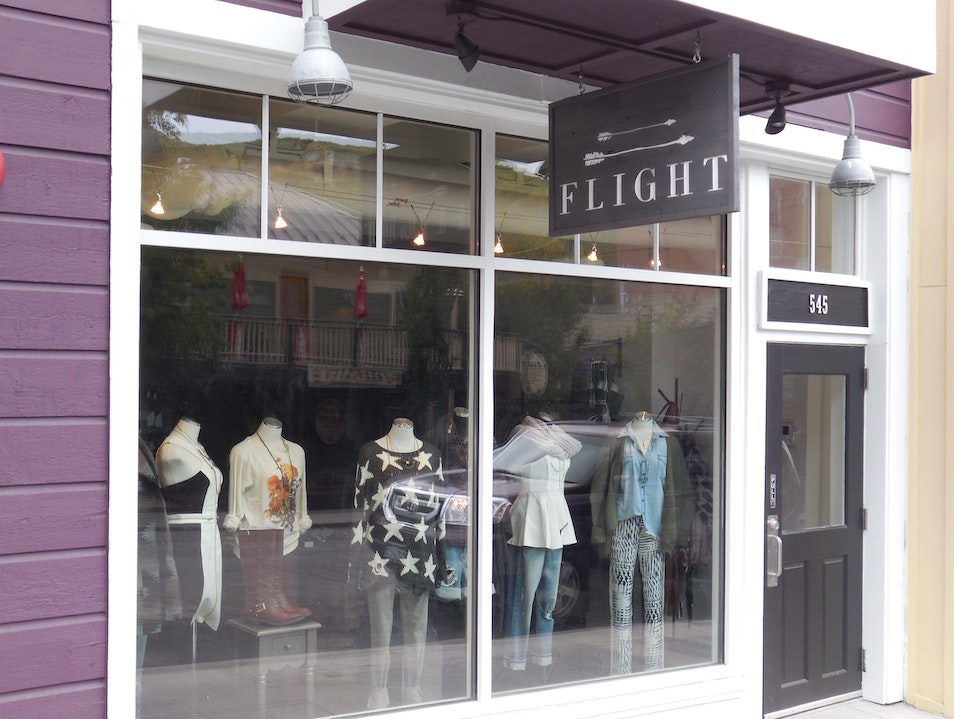 Fashionistas Flock to Flight Boutique Park City Utah United States