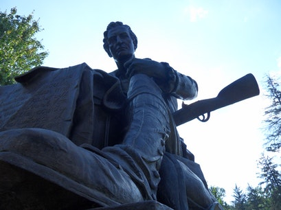 Thomas Paine Statue Morristown New Jersey United States