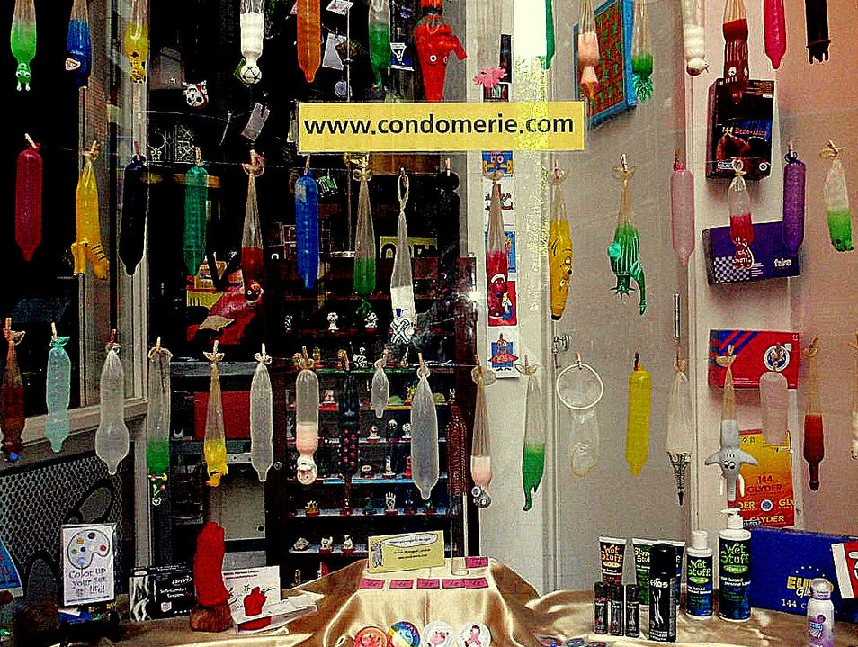 For Play: Amsterdam's Condomerie Amsterdam  The Netherlands