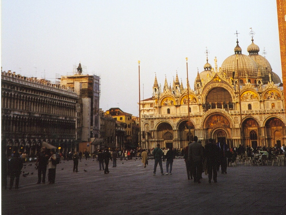 The Piazza San Marco Venice  Italy