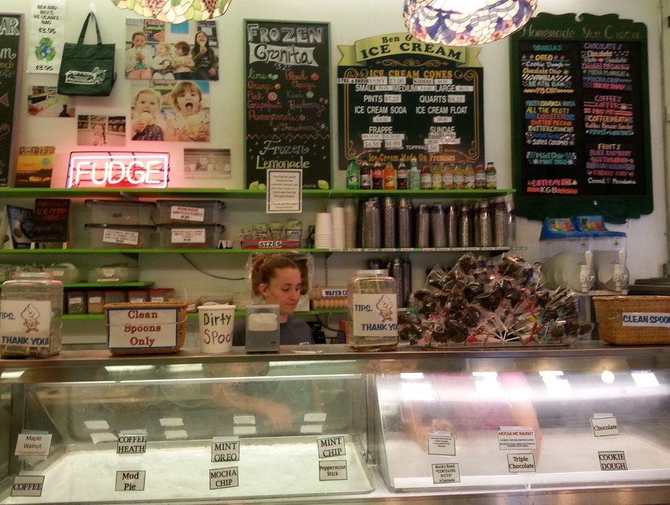 Want Seafood in Your Ice Cream? Falmouth Massachusetts United States