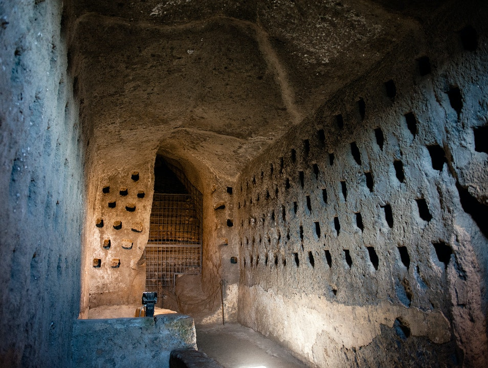 Fascinating underground tour Orvieto  Italy