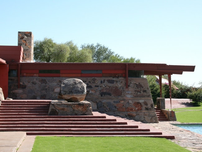 Frank Lloyd Wright's Arizona Home
