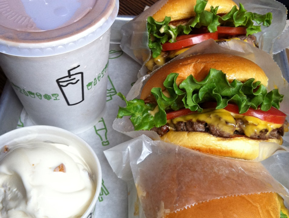 Shake Shack Burgers New York New York United States