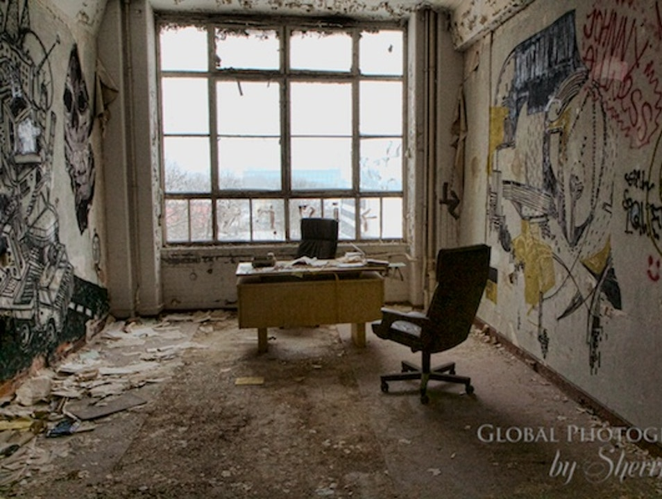 Shooting an Abandoned Industry Building