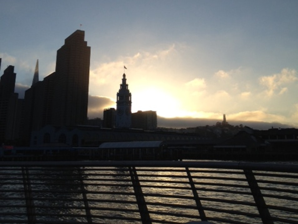 Sunset from Pier 14