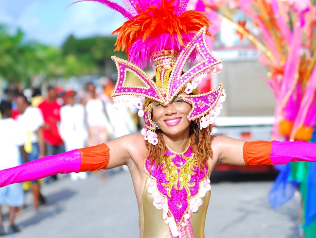 Anguilla - Carnival in Rainbow City