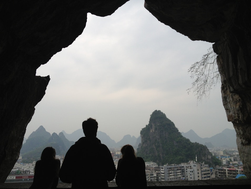 A Mountain View in the City Guilin  China