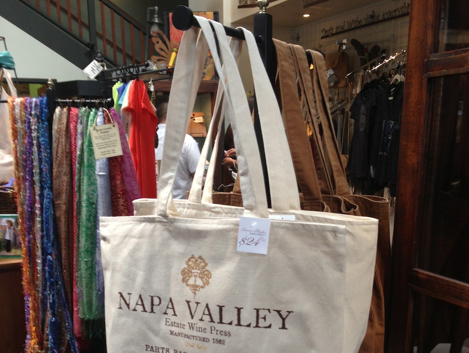 Wine Country Souvenirs at the Napa General Store