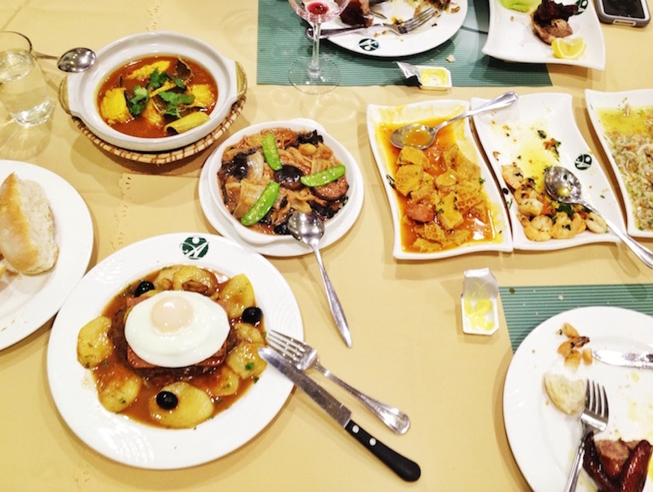 Great Local Macanese food