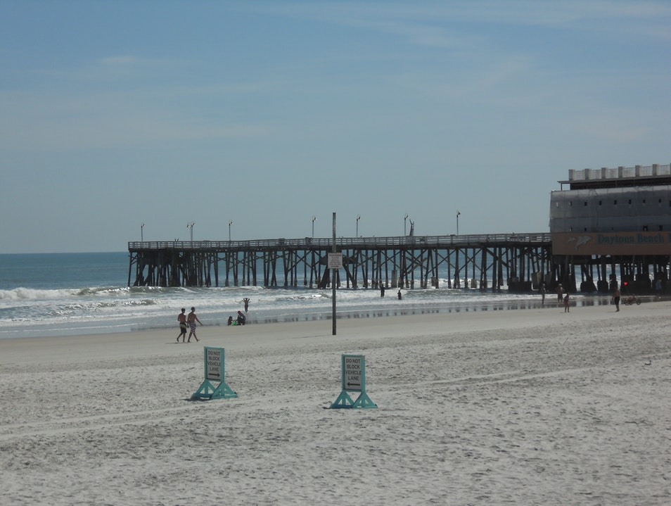 World Famous Daytona Beach. Florida Daytona Beach Florida United States
