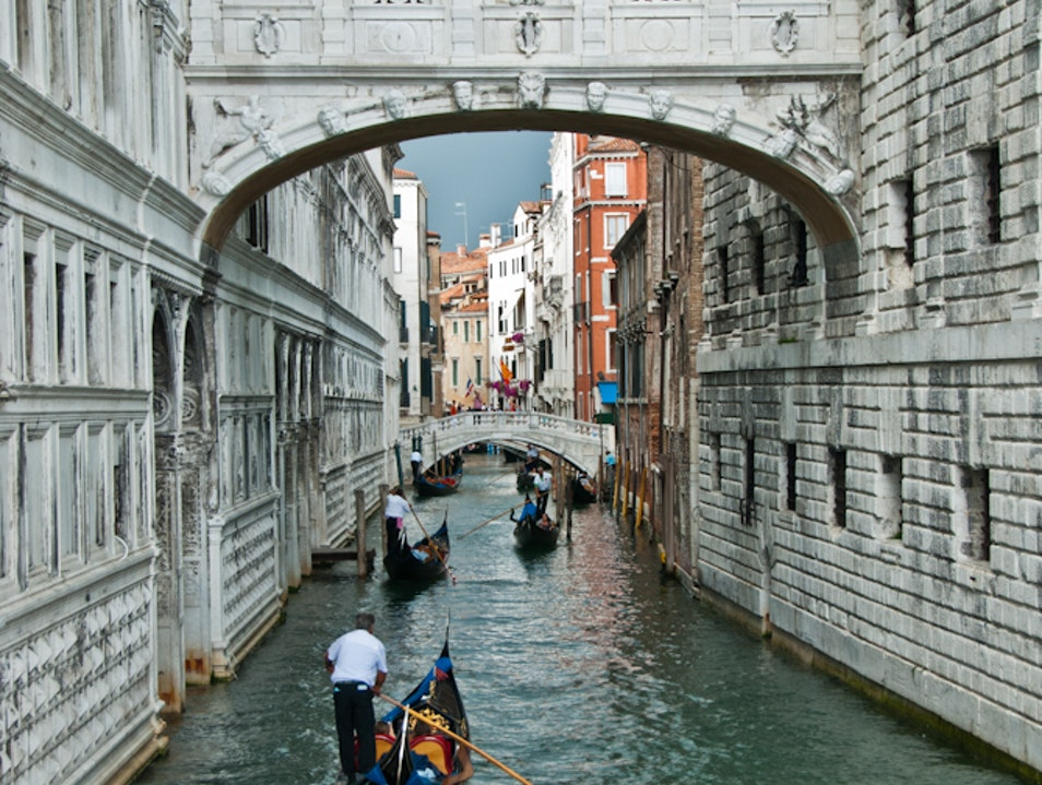 The Bridge of Sighs Venice  Italy