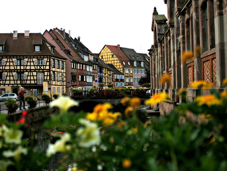 Looks like Germany but... Colmar  France