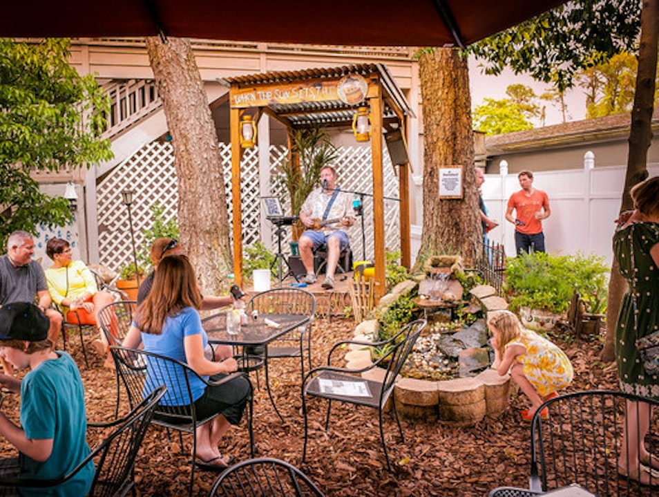 Homestyle Food in a Casual Outdoor Atmosphere Hilton Head Island South Carolina United States