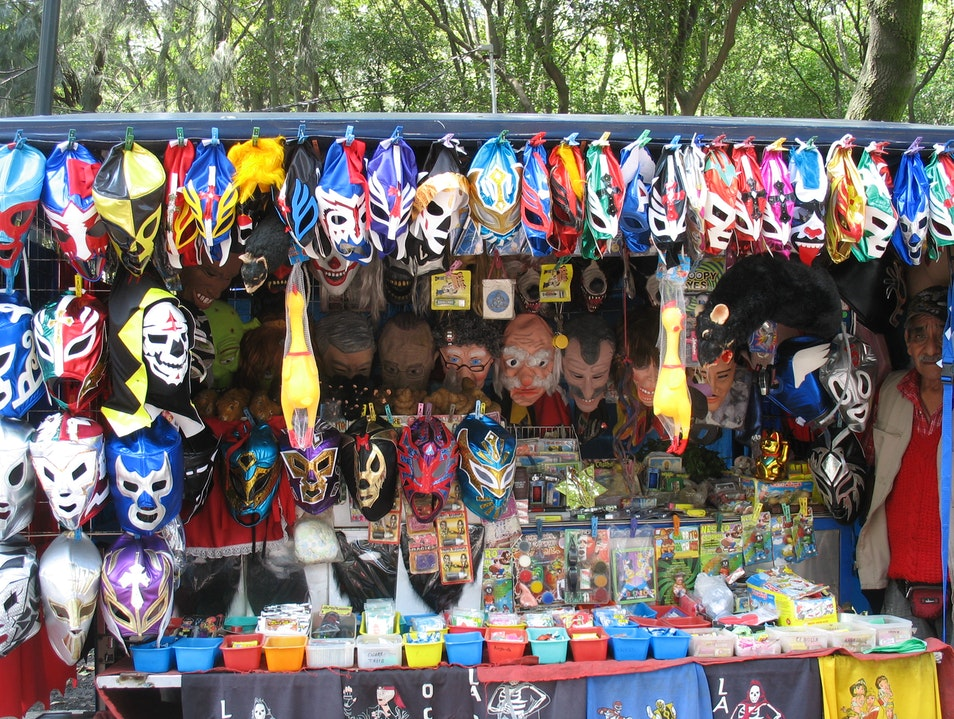 The Vendors of Chapultepec Mexico City  Mexico