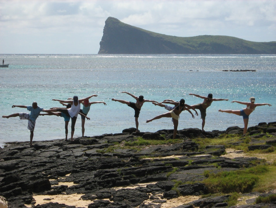 Dance in nature Grand Baie  Mauritius