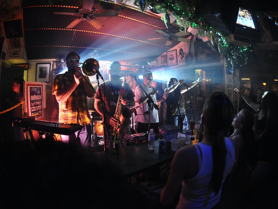From Sailors to Bikers at the Green Parrot Bar Key West Florida United States
