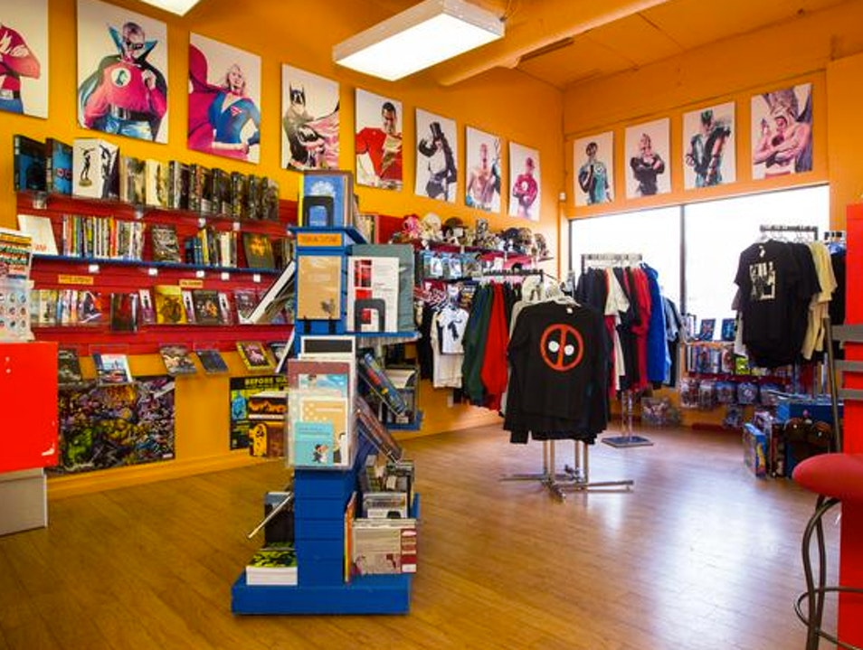 Nerd out at Happy Harbour Comics
