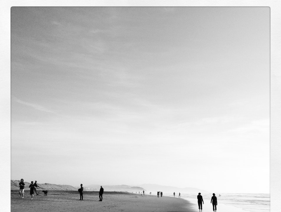 Then walk it all off on Ocean Beach San Francisco California United States