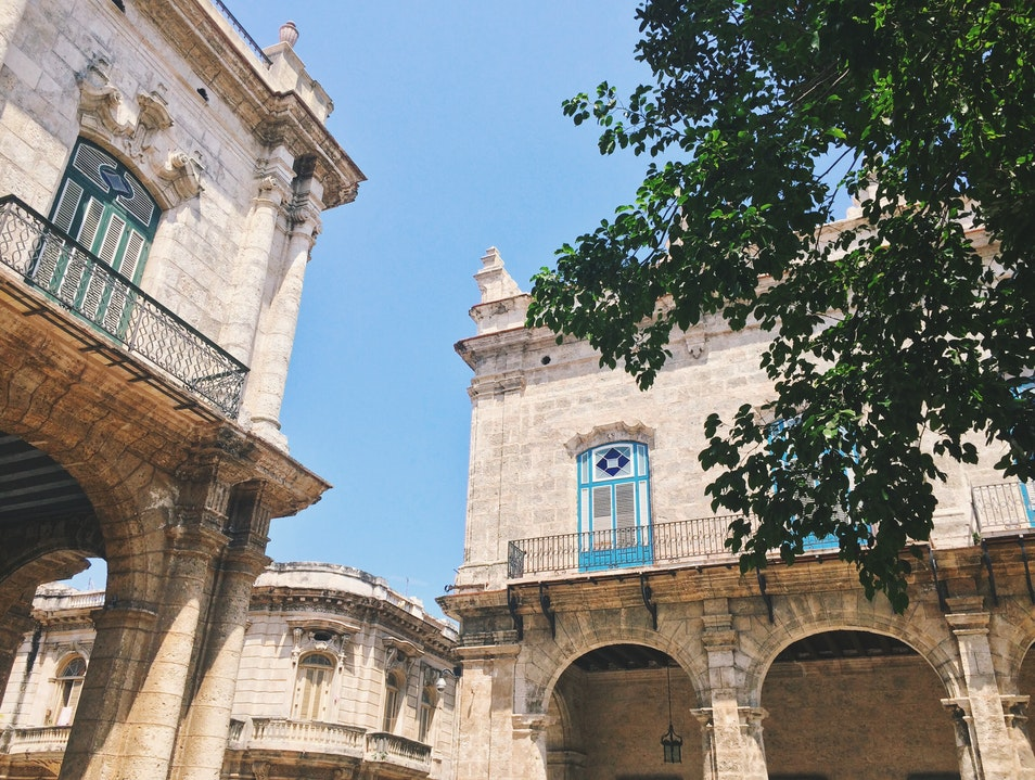 Old Havana's Most Lively Square Havana  Cuba