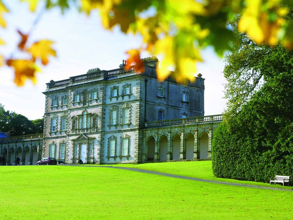 A Family Day out at a Country Estate Florence Court Demesne  United Kingdom