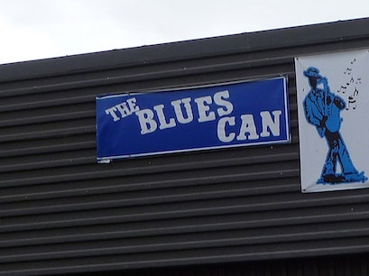 The Blues Can Calgary  Canada