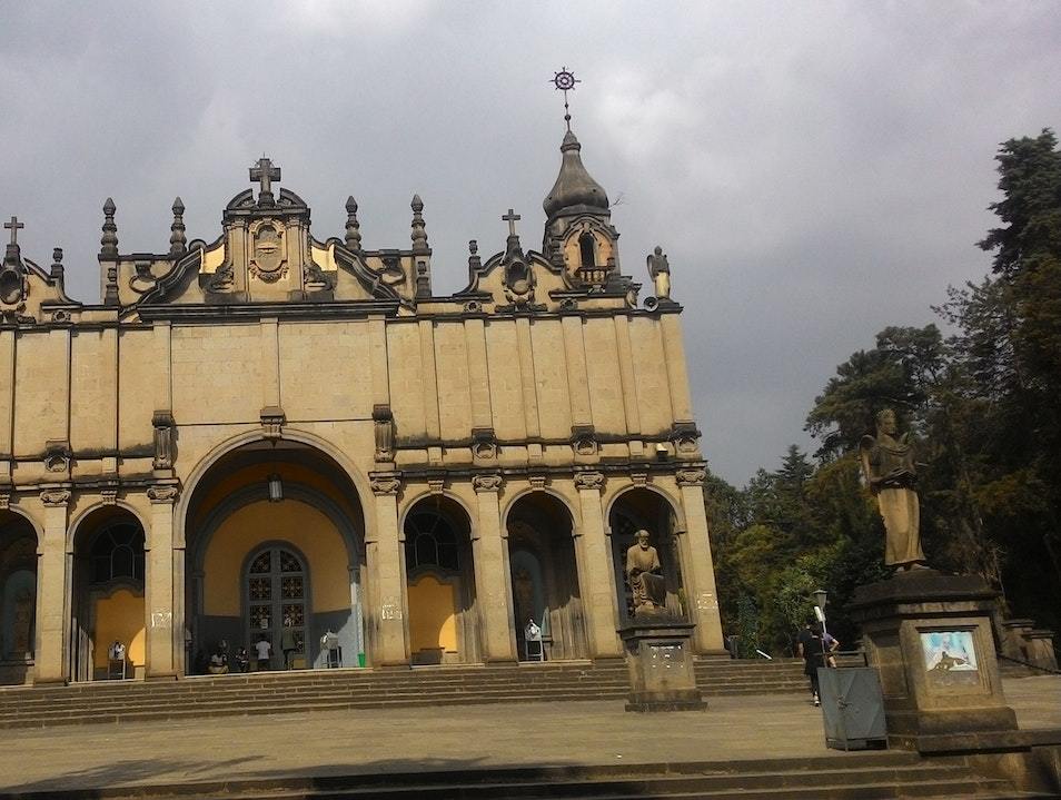 Holy Trinity Cathedral in Addis Ababa, Ethiopia
