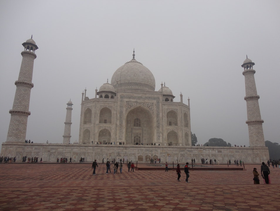 Typical Taj Agra  India